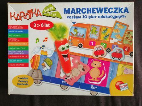 Gra i układanka Marchewka