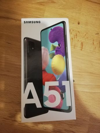 Samsung Galaxy a51 6GB/128GB Czarny. Nowy!