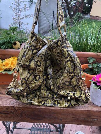 Oryginalna torebka Rebecca Minkoff wężowa
