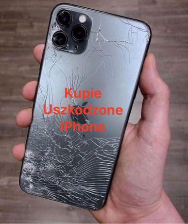 SKUP iPhone USZKODZONE Apple 8 Plus X XR XS Max 11 Pro skup telefonów