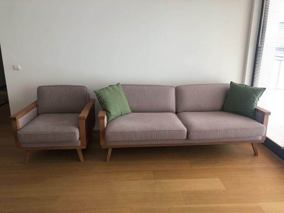 Sofa Orkide Scandicsofa z funkcją spania wraz z fotelem Warszawa - image 1
