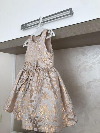 Новое Нарядное платье на 9 - 10 мес плаття платтячко