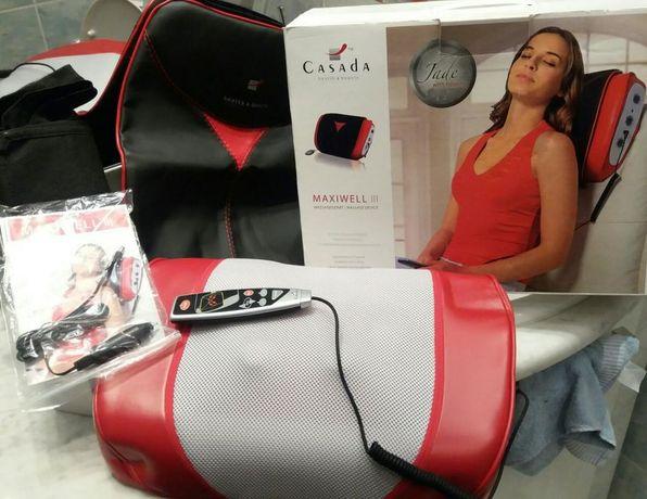 Lecznicza poduszka do masażu shiatsu z nefrytami Maxiwell firmy Casada