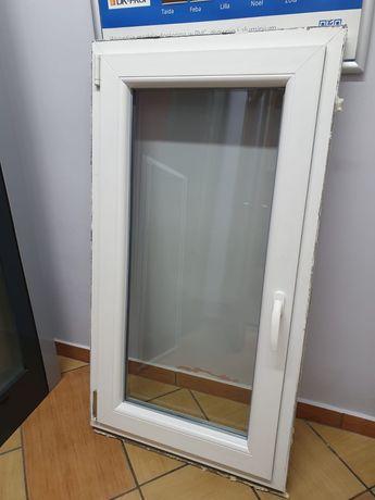 Okno pcv, pvc białe, nowe, 65x120