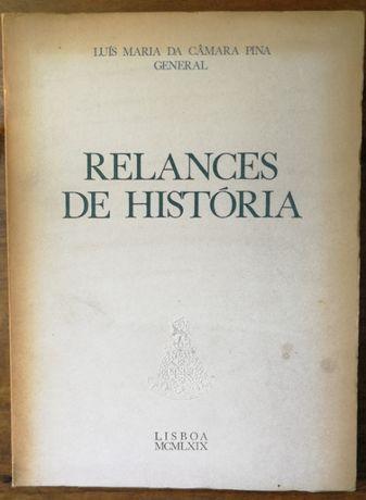 relances de história, luís maria da câmara pina, general, 1969