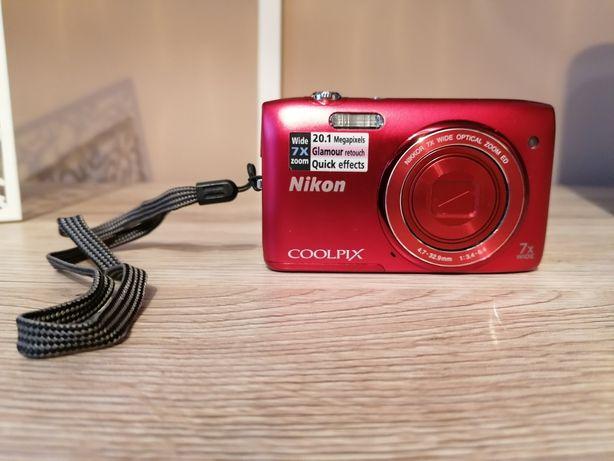 Sprzedam nikona coolpix S3400 w bardzo dobrym stanie