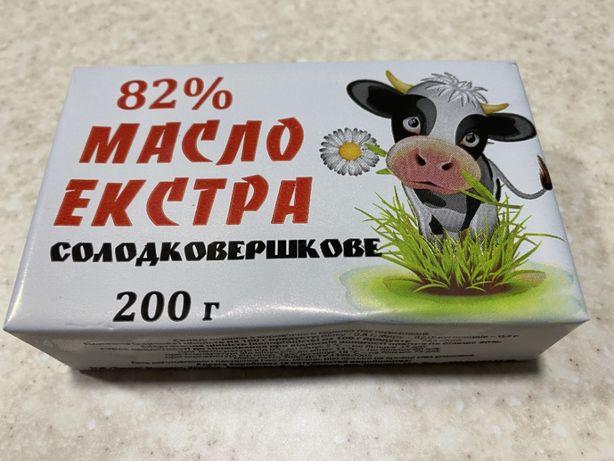 """Сливочное Масло 82% """"Екстра"""""""