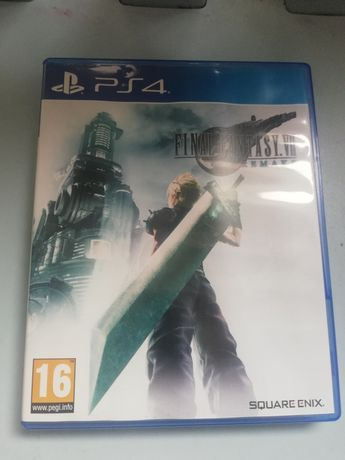 Gra Final fantasy VII remake ps4