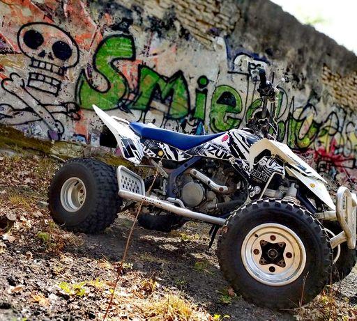 Suzuki ltr450, Biala perełka