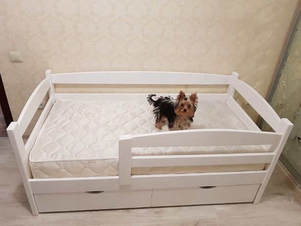 Подростковая детская кровать. В налиии. Шухляды в цене! Ручная работа.