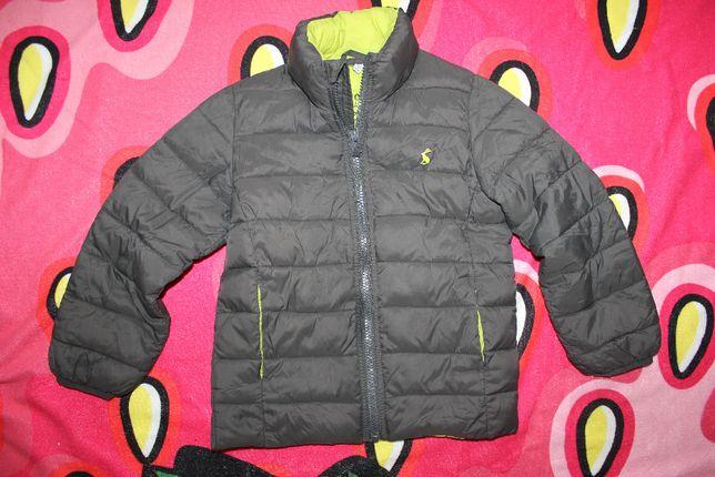 Куртка демисезонная на 4-5 лет ультратонкая