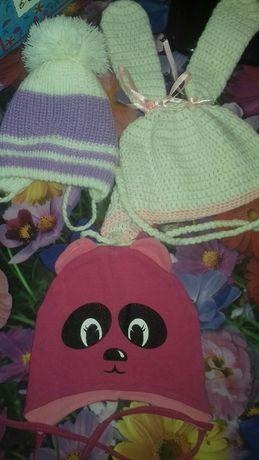 шапки для девочек