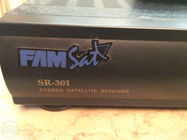 Receptor satélite analógico FAMSAT SR-301