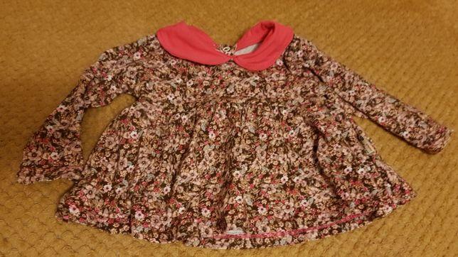 Bluzka, bluzeczka, tunika z długim rękawem wiosna