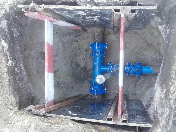 Przyłącza wodociągowe kanalizacyjne gaz