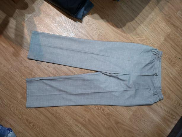 Szare spodnie chinosy r 40