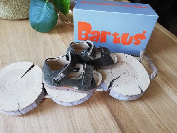 Sandałki Bartuś 20 skóra