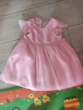 Sukienka dziewczęca stan idealny