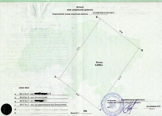 земля Пилиповичі, Бородянський район, Київська область