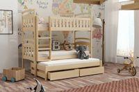 Nowe łóżko dla trójki dzieci i młodzieży! Materace GRATIS 190x80