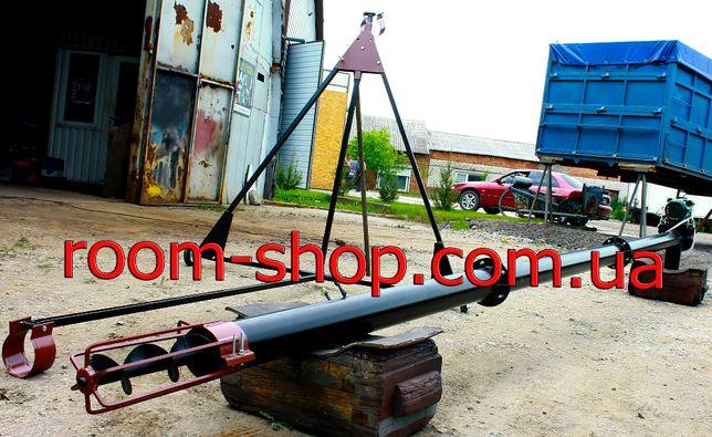 Шнековый погрузчик, транспортер, конвейер, шнек, диаметром 110 мм.