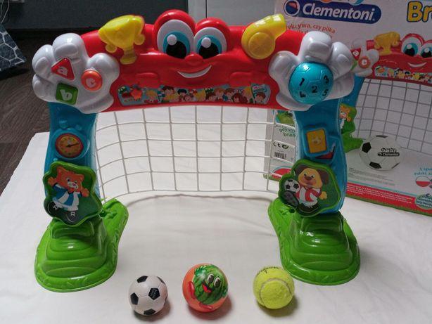 Clementoni interaktywna bramka 2 w 1 dla dzieci