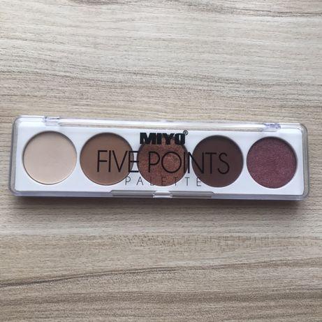 Miyo Five Points Paleta cieni do powiek