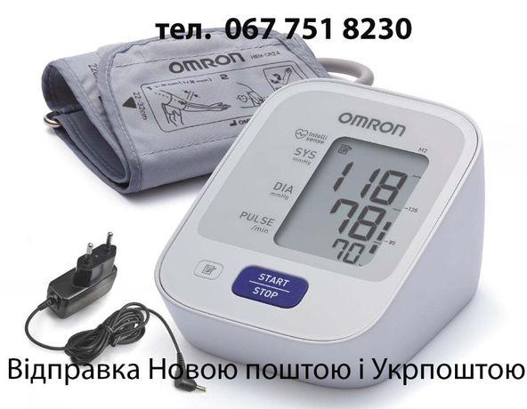 Тонометр автоматичний Омрон|Omron M2 basic з адаптером Гарантія 5років