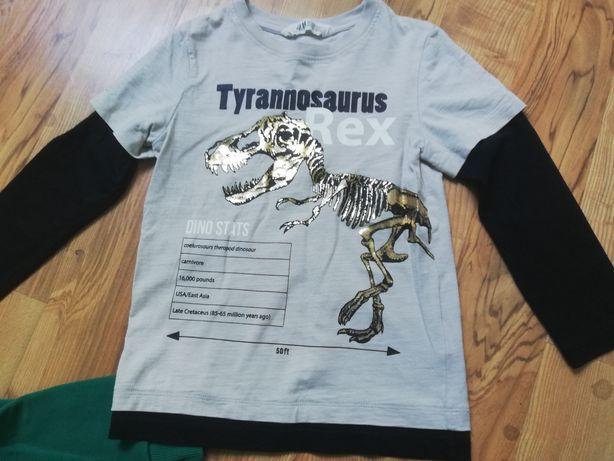 NOWA Bluzka z Dinozaurem  H&m