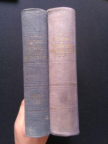 Słownik niemiecko-polski (cz. I) i polsko-niemiecki (cz. II) P. Kalina