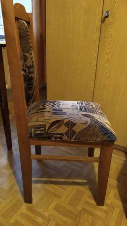 Krzesła tapicerowane, 4 sztuki