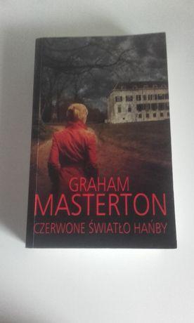 Czerwone światło hańby Graham Masterton książka, powieść thriller