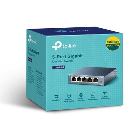 Новый 5-портовый Гигабитный коммутатор Tp -Link TL-SG105