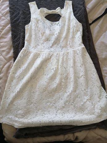Vestido branco com renda PINKIE Tam. XL