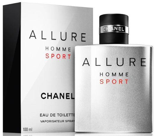 Chanel Allure Homme Sport. Perfumy męskie. EDT 100 ml. PREZENT ŚWIĘTA