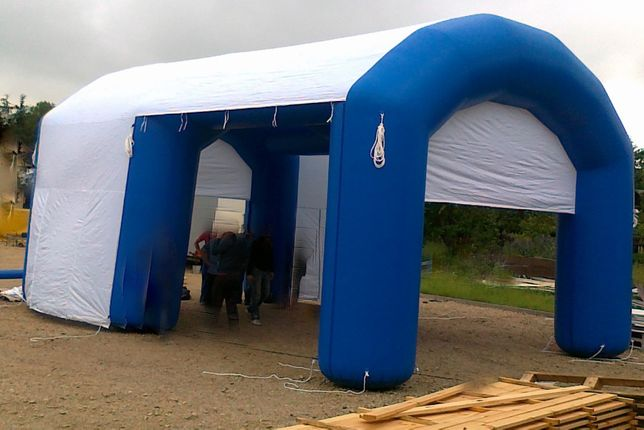 Namiot nadmuchiwany