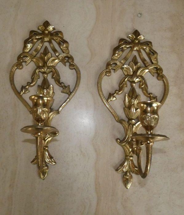 Świeczniki mosiężne ozdobne Izabelin C - image 1
