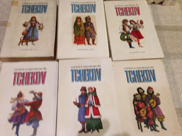 Contos e Narrativas de TCHEKOV, 12 Volumes