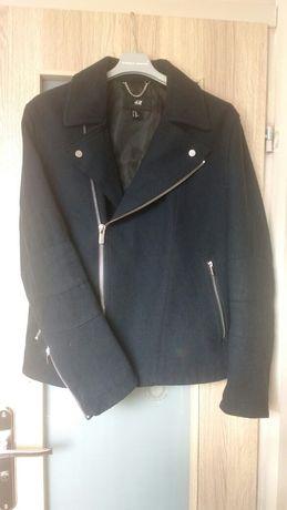 Meska ramoneska H&M M zamki płaszcz