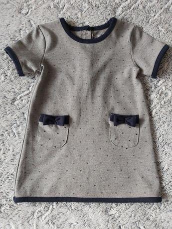Sukienka dla dziewczynki r.86