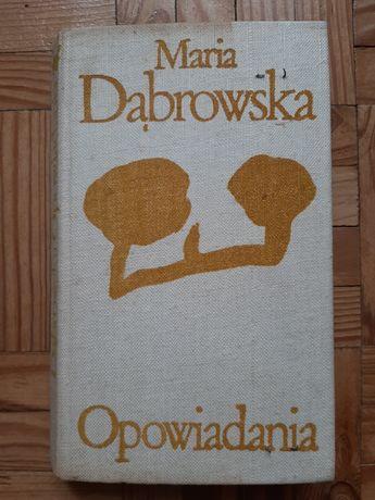 """""""Opowiadania"""" M. Dąbrowska"""