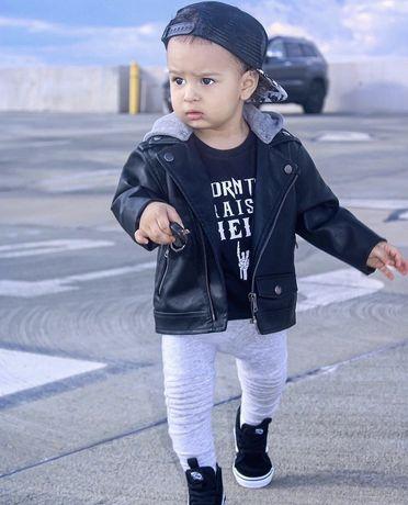 Куртка детская еко кожанная Zara Mango H&M 104 - 110 на 4-5лет