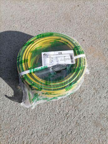 Przewód instalacyjny linka PE LgY 16mm żółto-zielony 40m