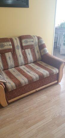 Zestaw wypoczynkowy sofa dwa fotele