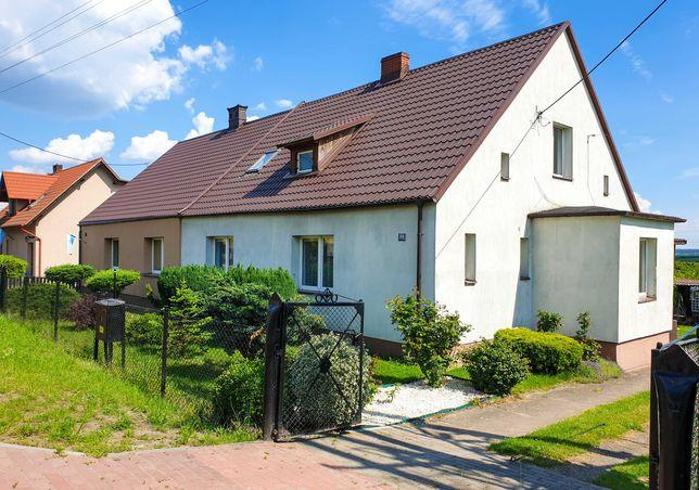 Dom jednorodzinny dwukondygnacyjny z sadem
