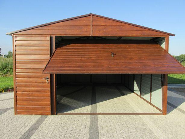 Garaż ALFA 4x6 drewnopodobny na zamówienie