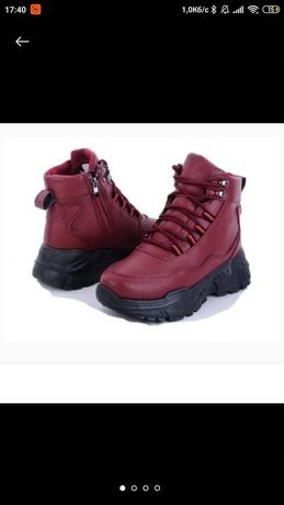 Продам новые женские зимние ботинки
