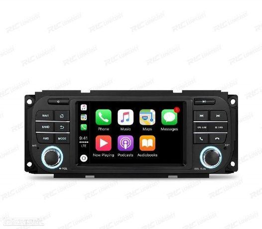 "AUTO RADIO GPS ECRA TACTIL 5"" CHRYSLER/JEEP/DODGE ANDORID 10.0"