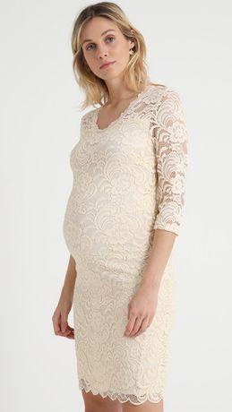 Sukienka ciążowa koktajlowa MLMIVANA DRESS MAMALICIOUS, rozmiar M