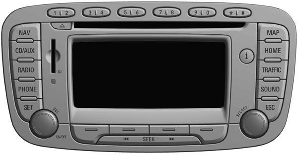 Radio nawigacja Ford Travelpilot FX NX MCA NAPRAWA